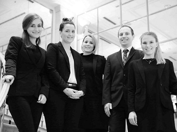 Le Méridien Stuttgart Sales and Catering team